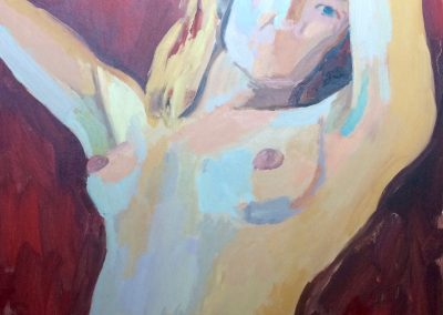 The Actress - 91cm x 48cm - Oil on Canvas - £1800
