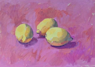 The Three Graces - Oil on Paper - 50cm x 37cm -  Mounted & Framed - £900