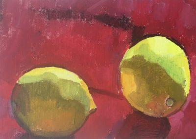 Lemons / 30cm x 20cm / £500 Available